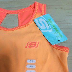 Skechers Active Girls Size 5/6 Sleeveless Tank Top